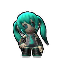 Hatsune Miku High Detail