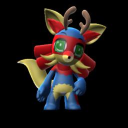 Jackalope Fox