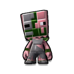 Minecraft ZombiePigman 3D