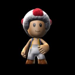 Super Mario Bros - Toad