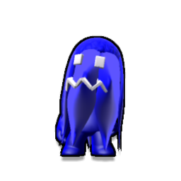 Blue Ghost, Pac-Man